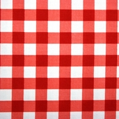 Basic Brights - Gingham Red