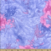 Basic Flannel Abstract Fabric - Purple