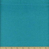 Basic Flannel Solids Cotton Fabric - Teal S06
