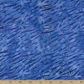 Batavian Batiks Skin Print Cotton Fabric - Dark Blue
