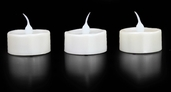 Battery Operated LED Tealights Bridal Collection - 3pc