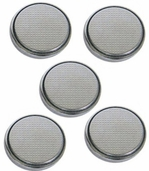 Battery Replacement Lithium Button Cell Coin Batteries High Power Battery - CR2450 5 pack