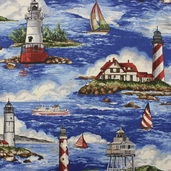 Bayshore Fabric Collection - Ocean