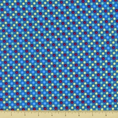 Be Big Cotton Fabric - Dot - Bright