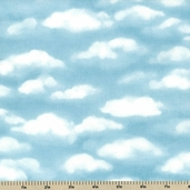 Bears Just Wanna Have Fun Cotton Fabric - Clouds 1255-11