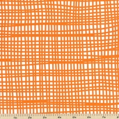 Bella Mat Cotton Fabric - Orange 33405A-2
