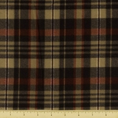 Berkshire Plaid Flannel Fabric Nightfall 34047-1