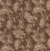 Birch Bark Lodge Cotton Fabric - Brown Bark