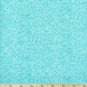 Bliss Blenders Speckled Cotton Fabric - Aqua