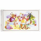 Blissful Moments Picture Perfect Panel Cotton Fabric - Multi