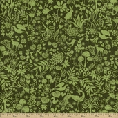 Blitzen Cotton Fabric - Evergreen 30293-16