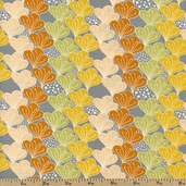 Blomma Anya Cotton Fabric - Orange 111-103-06-1