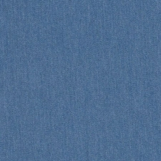 Blue Denim Cotton Fabric - Blue