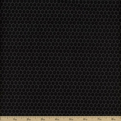 Bon Appetit Cotton Fabric - Black 35438-1