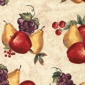Bountiful Cotton Fabric - Cream