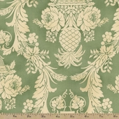 Bountiful Cotton Fabric - Green