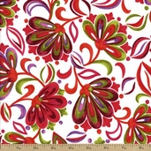 Bouquet Beauties Cotton Fabric - Summer J8684-339