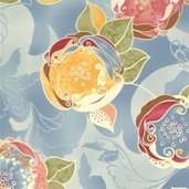 Boutique Cotton Fabric - Blue