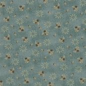 Bramble Berries Cotton Fabric - Green