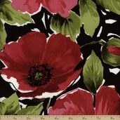 Breezy Cotton Fabric - Large Red BREE #330-R