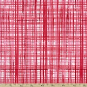 Breezy Plaid Cotton Fabric - Pink