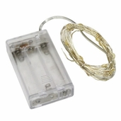 Bridal Collection - Silver Wire LED Lights - 6.56ft