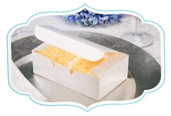 Bridal Collection - Swiss Dot Cake Boxes with Seals - 24pc