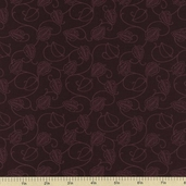Bryant Park Cotton Fabric - Brown 3747-8832-90