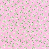 Bubblegum Pearl from Hoffman Fabrics - butterfly's