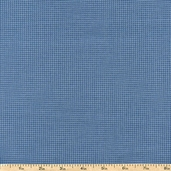 Buggy Barn Basics Checks Cotton Fabric - Light Blue