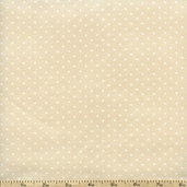Buggy Barn Basics Polka Dot Cotton Fabric - Neutral