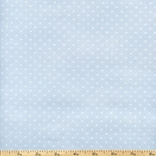 Buggy Barn Basics Polka Dot Cotton Fabric - Sky Blue