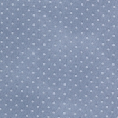 Buggy Barn Basics Cotton Fabric - Polka Dot Light Blue