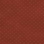 Buggy Barn Basics Cotton Fabric - Polka Dot Rust
