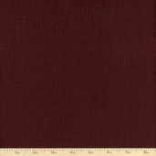 Buggy Barn Basics Small Plaid Cotton Fabric - Burgundy