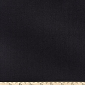 Buggy Barn Basics Small Squares Cotton Fabric - Black