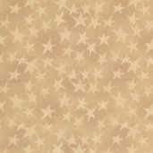 Buggy Barn Basics Cotton Fabric - Stars Beige