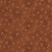 Buggy Barn Basics Cotton Fabric - Stars Brown