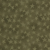 Buggy Barn Basics Cotton Fabric - Stars Green