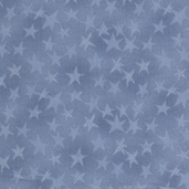 Buggy Barn Basics Cotton Fabric - Stars Light Blue