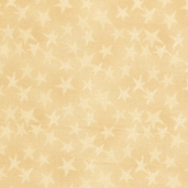 Buggy Barn Basics Cotton Fabric - Stars Yellow