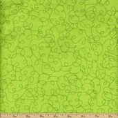 Bungle Jungle Cotton Fabric - Lime Green 39504-16