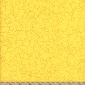 Bungle Jungle Cotton Fabric - Yellow 39504-17
