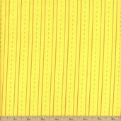 Bungle Jungle Cotton Fabric - Yellow 39507-17