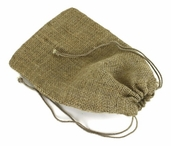 Burlap Bags Drawstrings 6x 10- 12 pack