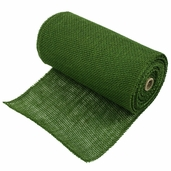 Burlap Fabric 9in. x 10yds. - Green