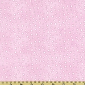 Buttercup Babies Stars Flannel Fabric Pink 5890-22