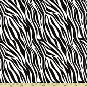 Butterfly Swirl Cotton Fabric - Zebra 32157-1