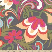 Cabana Blooms Large Floral Cotton Fabric