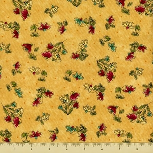http://ep.yimg.com/ay/yhst-132146841436290/cabin-by-the-lake-cotton-fabric-wildflowers-gold-3.jpg